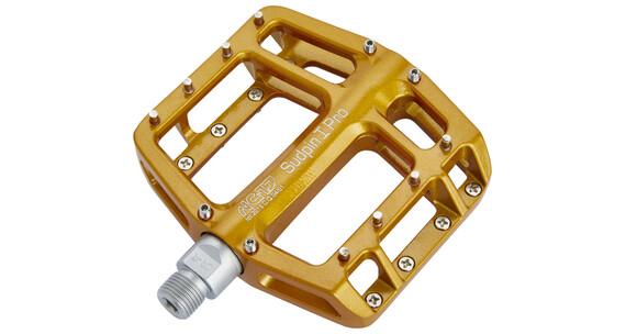 NC-17 Sudpin I Pro bmx pedalen geel
